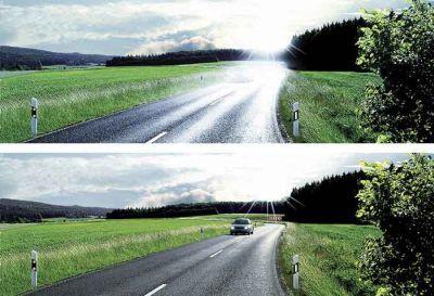 Как избежать аварий при ночном вождении. Что такое поляризационные очки? Poljarisazionnyje_6